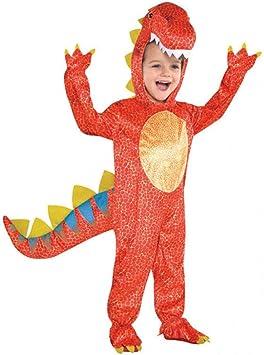 Amscan 844661-55) - Disfraz infantil con diseño Dinosaurio, talla ...