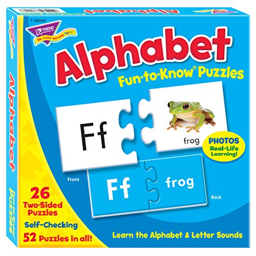 Fun-to-Know® Puzzles: Alphabet (Alphabet Photo Puzzles)