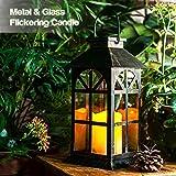 Solar Lantern Outdoor Classic Decor Bronze