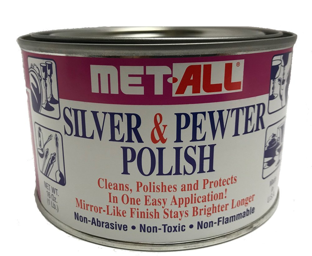 Met-All Silver Pewter Polish