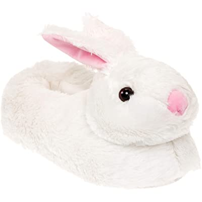 Silver Lilly Classic Bunny Slippers - Plush Animal Slippers | Slippers