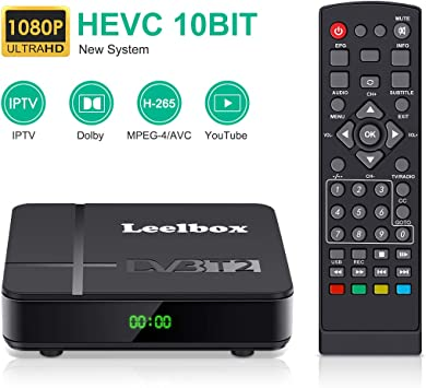 Decodificador TDT Terrestre - Leelbox Digital TV HD Euroconector ...