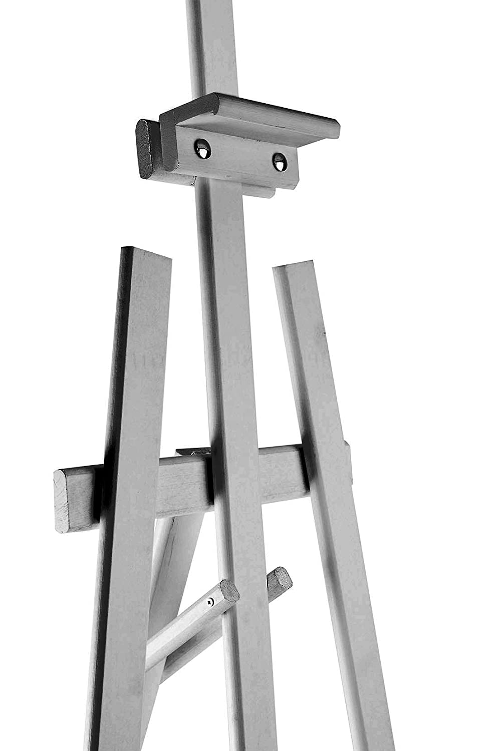 WHITE PICTURE 1800MM HIGH DISPLAY CANVAS PINE WOOD EASEL STUDIO HOLDER