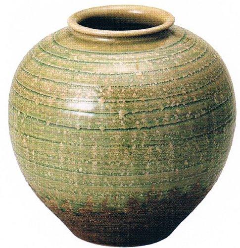 ビードロ丸花瓶 10号 信楽焼 陶器 花器 花入 花瓶 B00APCTX5G