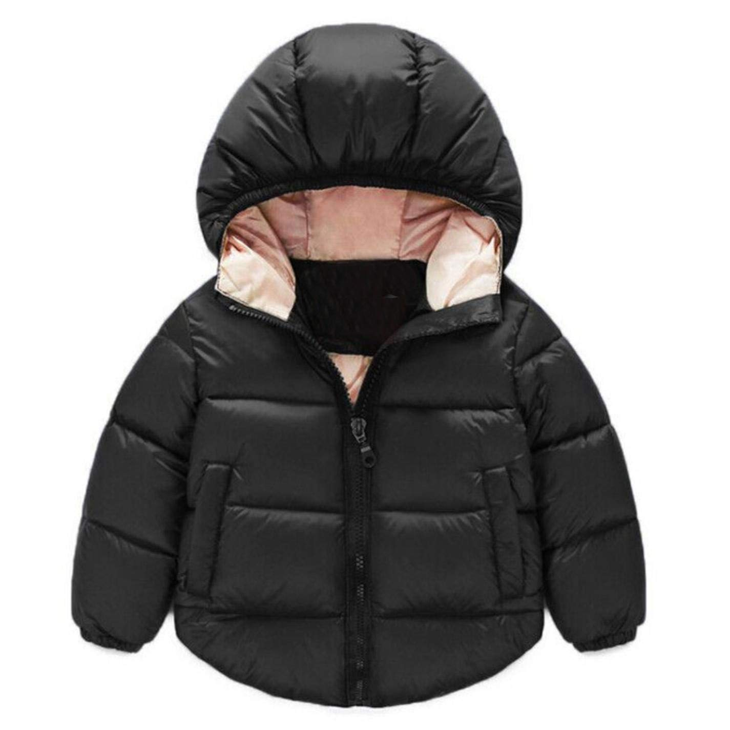 LzCxZDKN Baby Boys Girls Jacket Hooded Kids Outerwear Clothing Coat Children Jackets