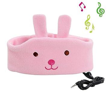 COTOP auriculares para la cabeza de la venda de la música del auricular, cómodo Volumen