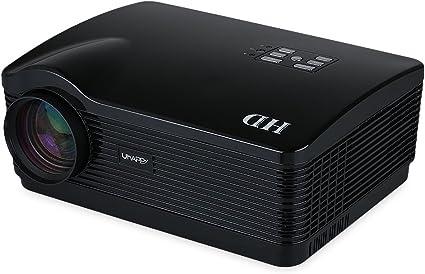 Uhappy H1 - HD Proyector TDT (150W, 720P, HDMI/USB/SD/DTV/AV/VGA ...