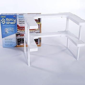 Abnehmbare Küchenregal Gewürzregal Rack Stackable Organizer Chickwin ...