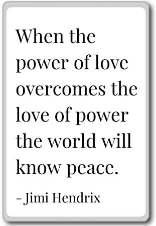 Amazoncom When The Power Of Love Overcomes The Love Of P Jimi