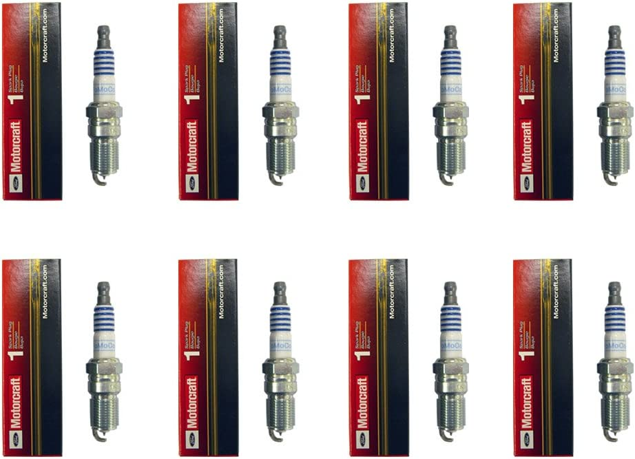 Set of 8 OEM Iridium Spark Plugs For Ford Mazda Mercury Lincoln
