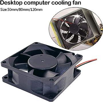 Radiador Ventilador Silencioso De La Computadora Ventilador De La ...