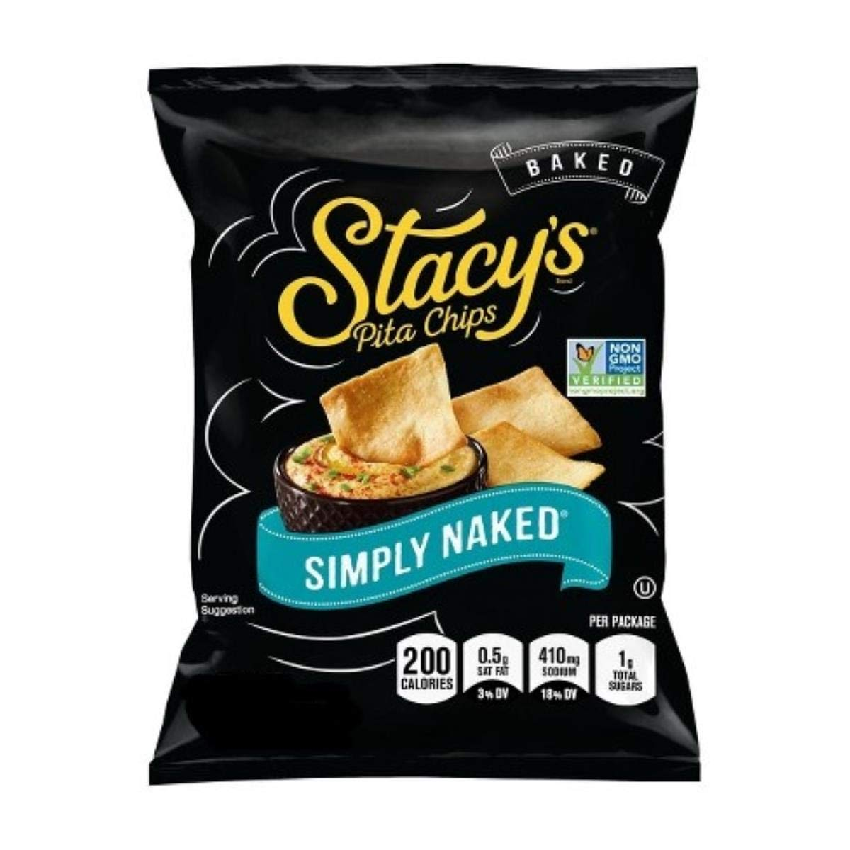 Stacy's Pita Chips Garden Veggie Medley Pita Chips - Veggie - Case of 12 - 7.33 oz.