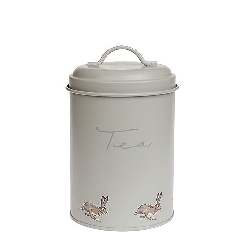 Sophie Allport Storage Tin - Tea - Hare design