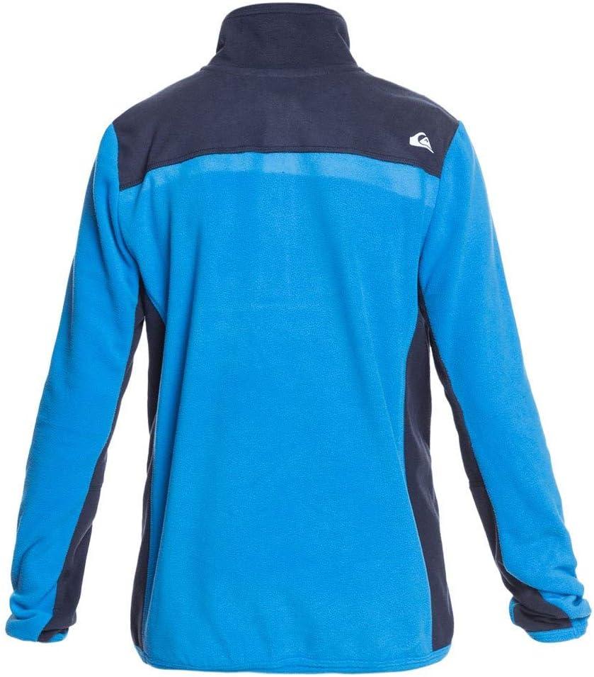 Quiksilver Aker-Polaire Demi-Zip pour Gar/çon 8-16 Brilliant Blue Taille Fabricant : L//14 FR : L