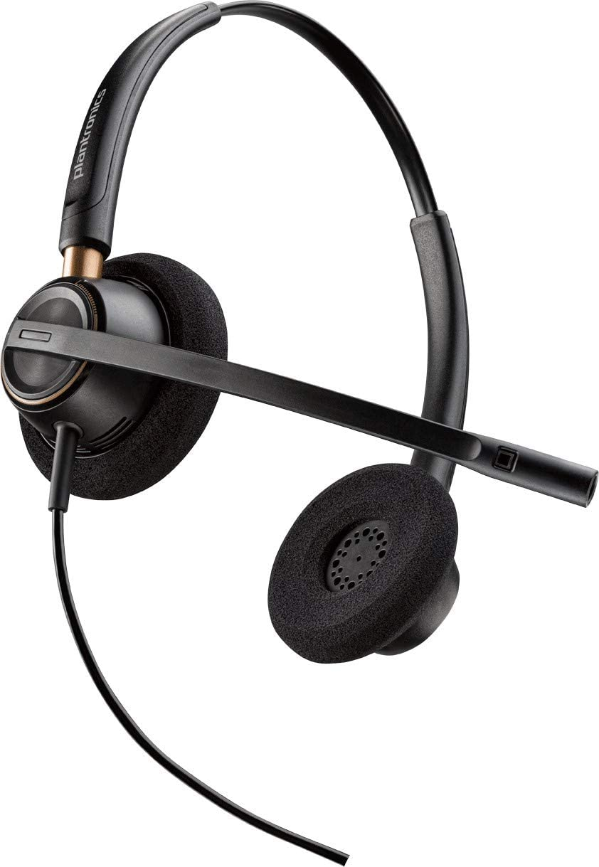 Plantronics EncorePro HW520D Over the Head Binaural Headset