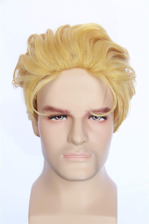 Amazon.com: HangCosplay: peluca Dio Brando inspirada en la ...