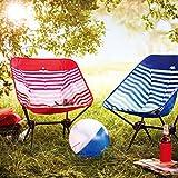 ALPHA CAMP Lightweight Portable Camping Chair - Ultralight...