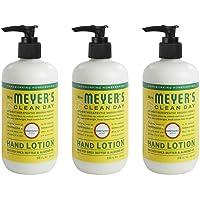 Mrs. Meyer's Clean Day Crema Hidratante de Manos, Formulado con Aceites Esenciales, Floral Frutal, 354 ml, 3 Pack