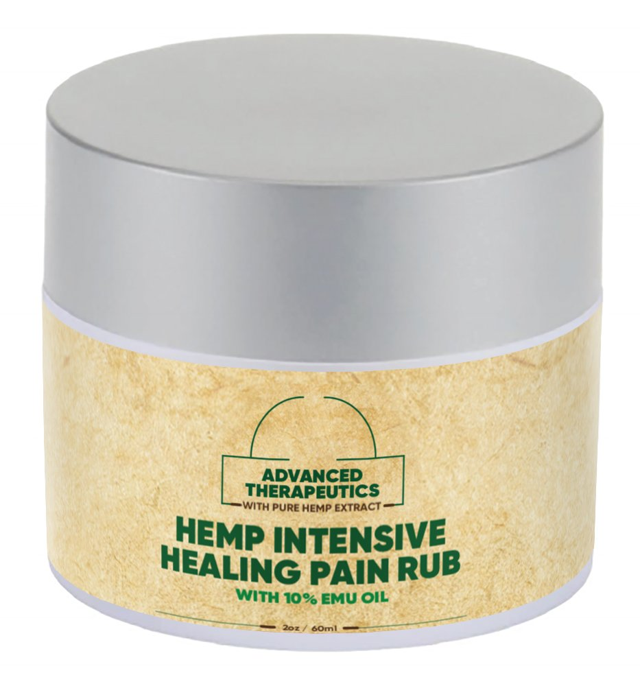 Pure Hemp Oil Combined with PURE BLU EMU CREAM for FAST Arthritis Relief. Alleviate KNEE PAIN,BACK PAIN, SHOULDER PAIN and Hip P by Advanced Therapeutics BLU EMU OIL