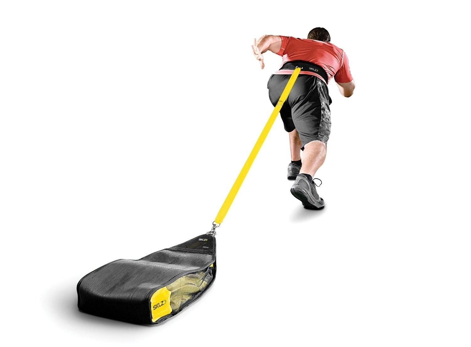 Indoor Outdoor Sprint Speed Strengthen Trainer Durable Weight Drag Bag Pull Sled