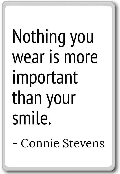 Nada You wear es más importante que su... - Connie Stevens - citas ...