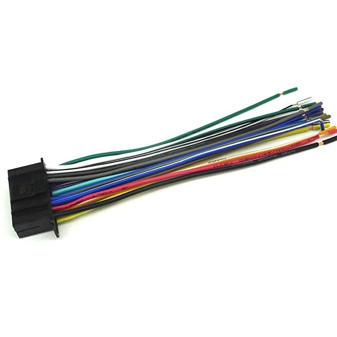 Amazon.com: Wire Harness Wiring Harness 22 PIN FOR Kenwood ... on