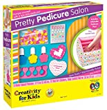 Creativity for Kids Pretty Pedicure Salon - Pedicure Party Play Set for Kids