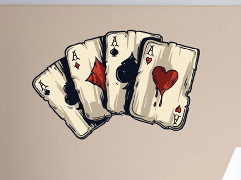 games walls card gambling