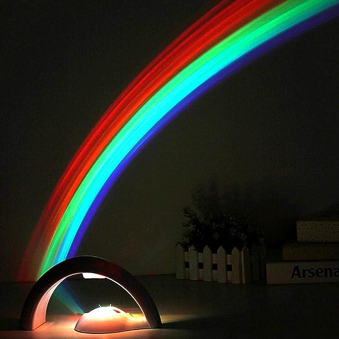 Proyector de arco iris increíble de segunda generación Luz de arco ...