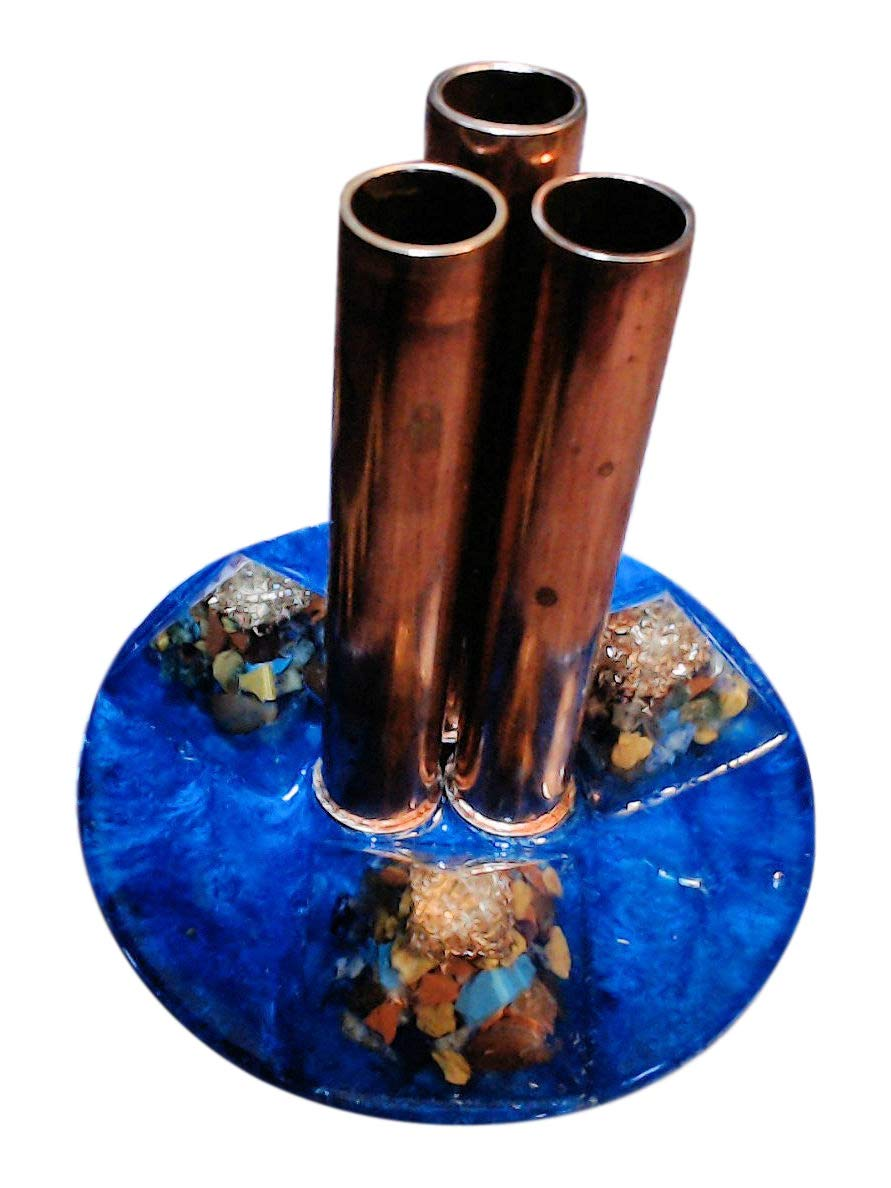 New Orgone Energy Mini Orgone Tower Buster for home, office, garden, travel - adjustable copper pipe cloud buster - powerful, portable, versatile - weighs 1 lb