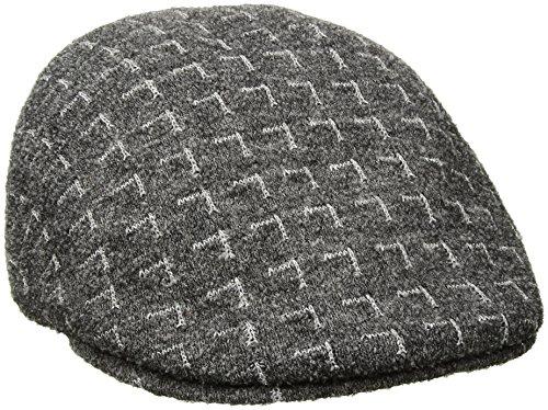 Kangol Men's Matrix 507 Cap, Flannel/Silver S