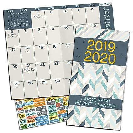Agenda mensual de bolsillo de Harry Potter 2018-2019 ...