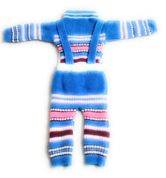24a6ca313 New Jain Traders Girl s Woolen Knitted Baby Sweater Set With Bip Pant (2Pcs  Suit)