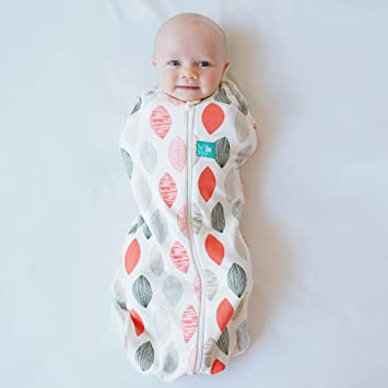 another chance 272d0 33631 ergoPouch 0.2 tog Cocoon Swaddle Bag- 2 in 1 Swaddle Transitions into arms  Free Wearable Blanket Sleeping Bag. 2 Way Zipper for Easy Diaper Changes ...
