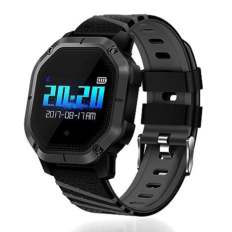 Huang Dog K5 Smart Watch IP68 resistente al agua reloj con podómetro fitness Trackers Hombre Pulsómetro