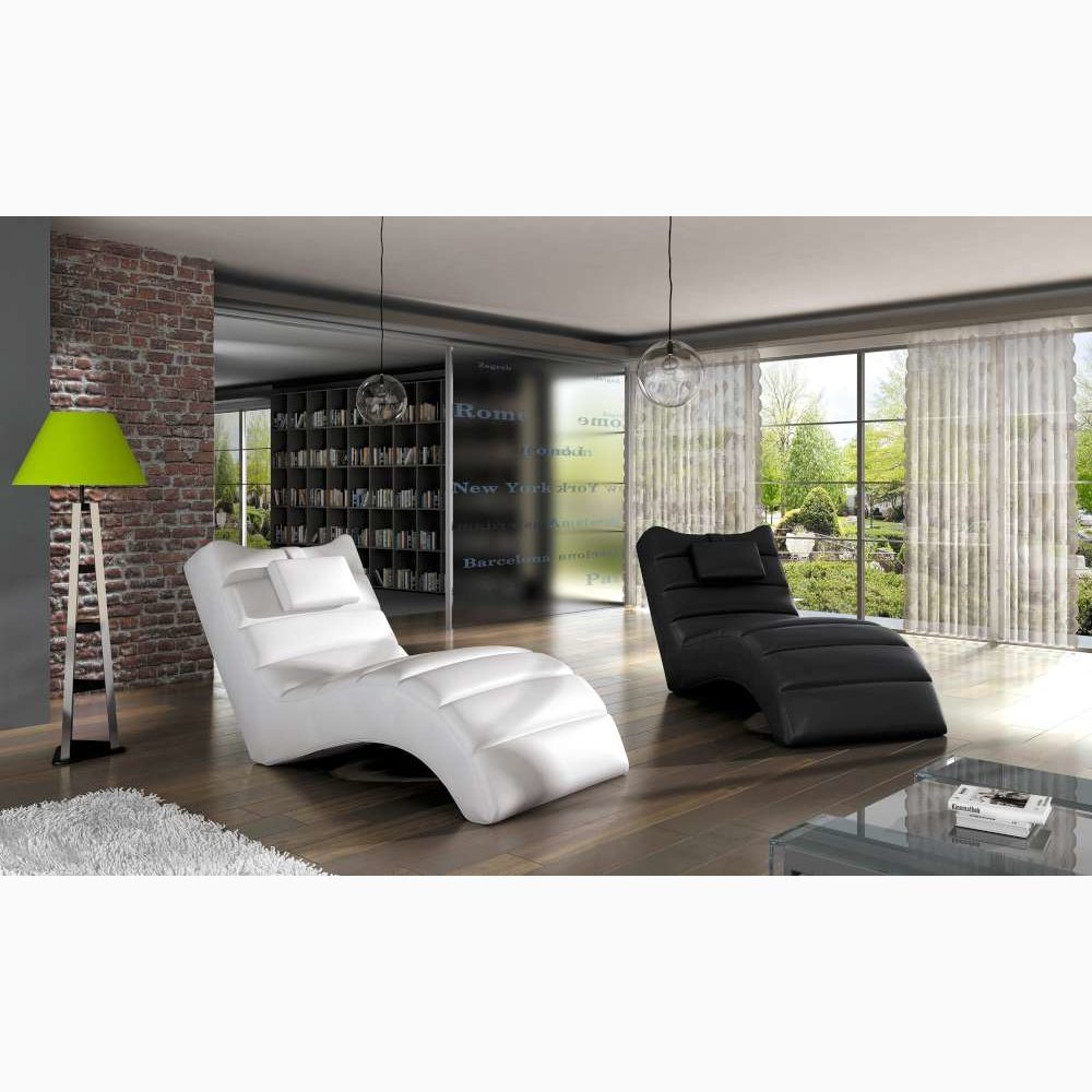 JUSTyou LOS Angeles Sillón Relax Chaise Longue Piel ...