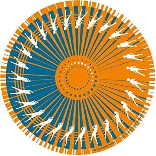 Zomo Dance orange Twin pack Slipmat