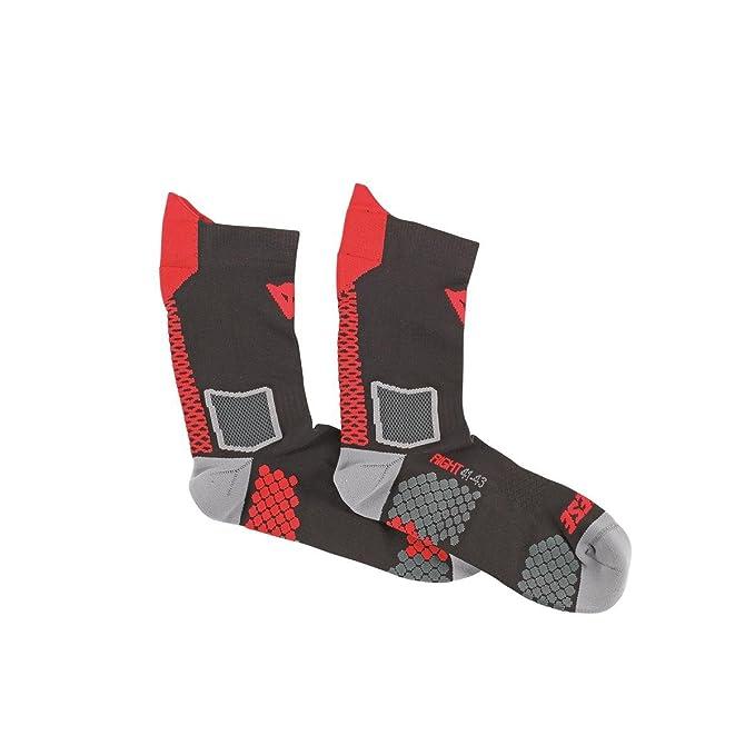 Dainese-D-CORE MID calcetín, Negro/Antracite, Talla L: Amazon.es: Coche y moto