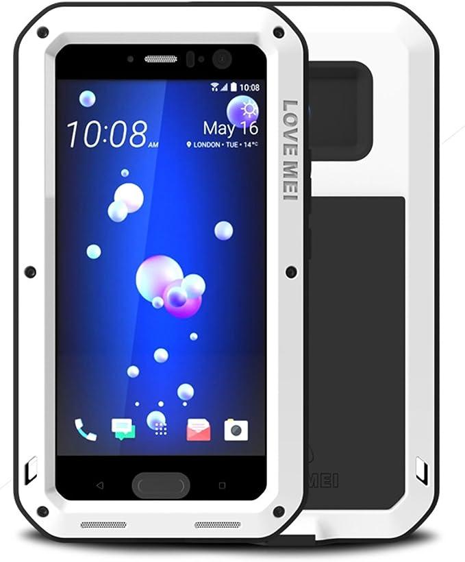Love Mei - Carcasa impermeable para HTC U11, material de aluminio ...