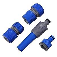 Aqualin Kit Arrosage Programmateur Filtre et Pistolet