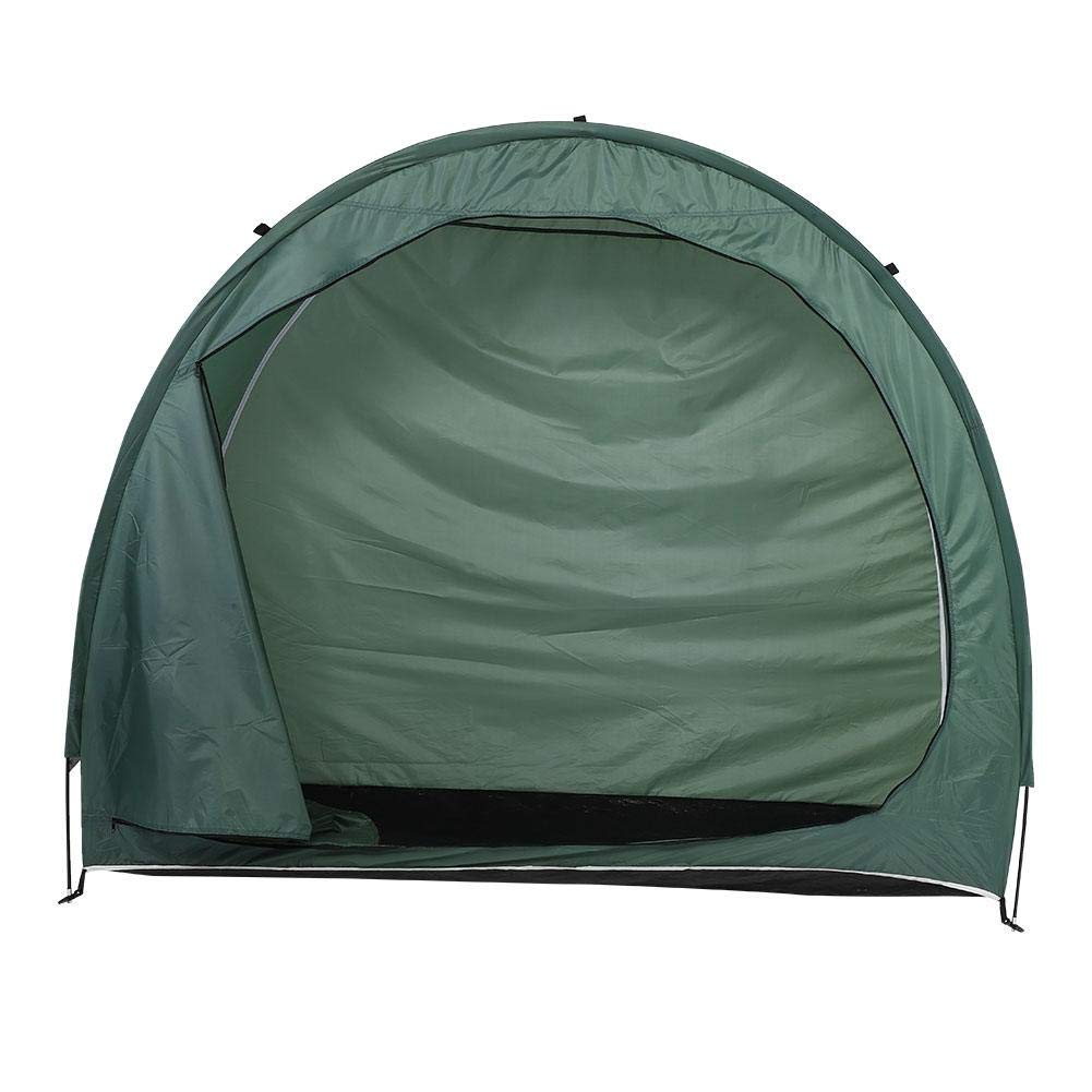 Outdoor Storage Tent, Bike Bicycle Shed Tent Space Saving Storage Cover for Garden Storage,Lawn Mower and Storage and Pool Storage by Qii lu