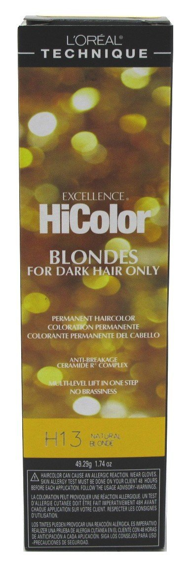 L'Oreal Excellence HiColor Natural Blonde, 1.74 oz