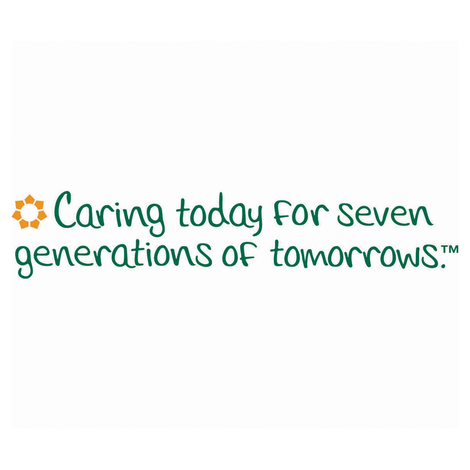 Seventh Generation 13713CT 100% Recycled Napkins 1-Ply 11 1/2 x 12 1/2 White 250/Pack 12 Packs/CT