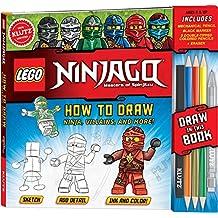 K813721 LEGO(R) Ninjago(R) How To Draw Ninja, Villians And More!-
