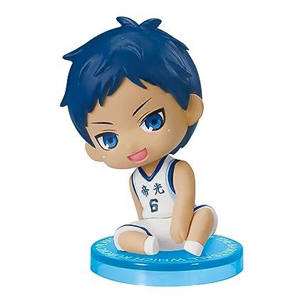 033b8707857cc Matching World Kurokos Basketball Sit Down Collection Aomine Daiki Mini  Figure