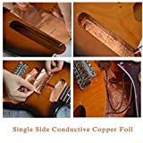 Copper Foil Tape with Single-Side Sheets Conductive Adhesive Stained Glass Guitar Soldering Electrical Repairs Grounding EMI Shielding Slug Repellent Grounding