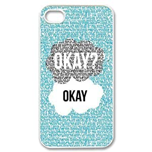 Diy iphone 5 5s case The Fault In Our Stars iPhone 4,5 5S Case Cover - Snap-on Hard-JD Design