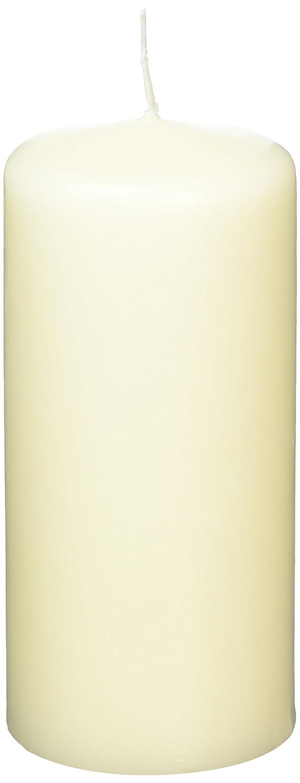 Lot de 6-60/x/130/mm Bougie pilier Bolsius 103814519705 Ivoire
