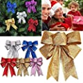 UNKE Christmas Tree Bowknot Christmas Tree/wedding/party Decoration Bow Bowknot Party Gift DIY Decor Xmas Tree Ornament