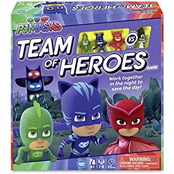 Wonder Forge PJ Masks Team of Heroes Game Board